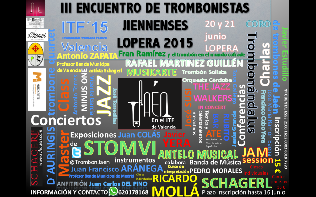 CARTEL DEFINITIVO Trombonistas jienenses