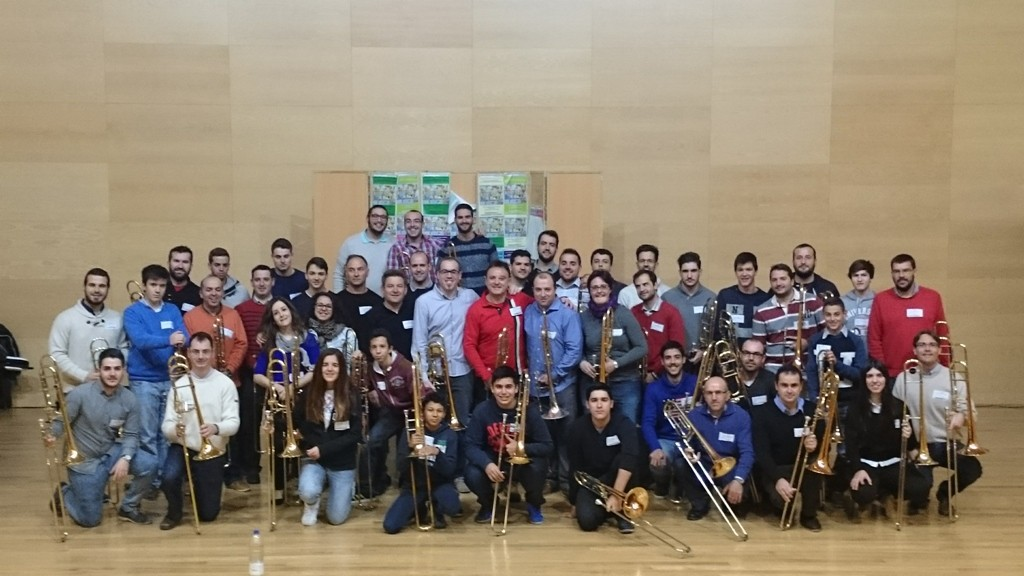 Primer Encuentro Trombon Cordoba Alumnos Profesores